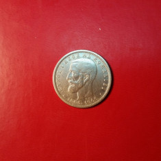 ROMANIA - 1 LEU 1906 ARGINT - Moneda Romania