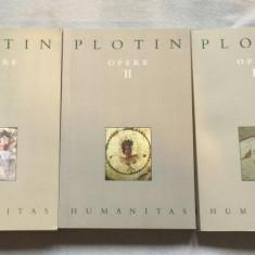 Opere / Plotin ed. critica de Andrei Cornea Vol. 1-3 - Filosofie