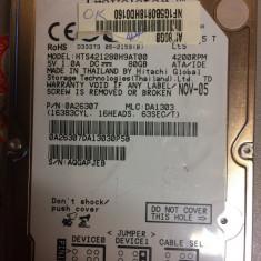 Hard laptop IDE de 80 gb -Hitachi - HDD laptop