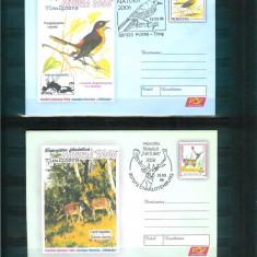2 Intreguri Postale cu stampile tematice - NATURA 2006