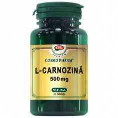 L-CARNOZINA 500MG 30CPR, COSMO PHARM - PREMIUM - Concentrat proteic