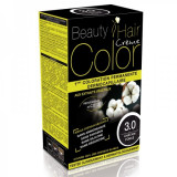 Beauty Hair Creme COLOR 3.0 saten inchis - Vopsea de par