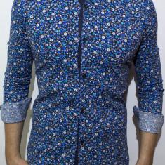 Camasa inflorata  camasa slim fit camasa fashion camasa barbat cod 125