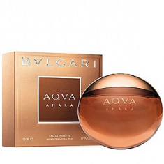 Bvlgari Aqva Amara EDT 50 ml pentru barbati - Parfum barbati Bvlgari, Apa de toaleta