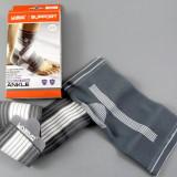Fasa elastica pentru glezna – pentru protectie si sustinere - marimea M - Echipament Fitness