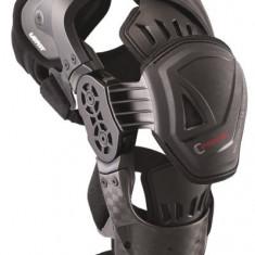 MXE Orteza genunchi Leatt C-Frame Pro Carbon negru/alb Cod Produs: LB17010102AU - Protectii moto