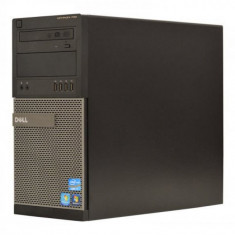 Calculator DELL Optiplex 790 Tower, Intel Core i3 Gen 2 2120 3.3 GHz, 4 GB DDR3, 250 GB HDD SATA, DVD-ROM - Sisteme desktop fara monitor