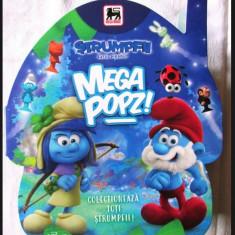 Colectie completa 48 Strumpfi Mega Popz + catalog nou Strumfi + ZAR Altele