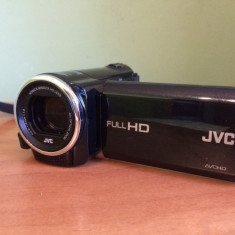 Camera Video JVC GZ-E15BEU, Full HD + card 32 GB + geanta
