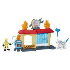 Transformers - Statia de Pompieri - Figurina Povesti Hasbro