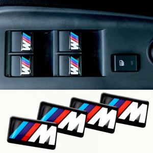 Sticker Bmw M Power pentru Jante Ceasuri Bord Volan