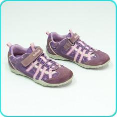 DE FIRMA → Pantofi / adidasi, piele, impermeabili, aerisiti, GEOX → fete | nr 31 - Adidasi copii Geox, Culoare: Din imagine, Piele naturala