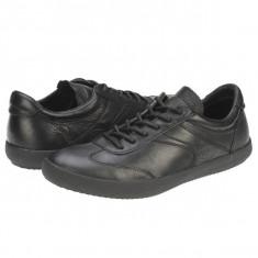 Pantofi casual barbati piele Bit Bontimes Leonard negru B707PVNEGRU - Adidasi barbati Bit Bontimes, Marime: 44