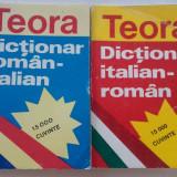 Dictionar italian-roman , roman - italian  2 vol