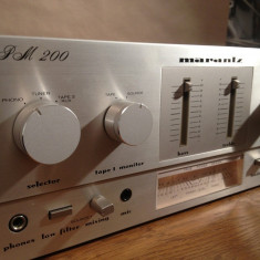 Amplificator Stereo MARANTZ model PM 200 - Vintage/Japan/Raritate ! - IMPECABIL - Amplificator audio Marantz, 41-80W