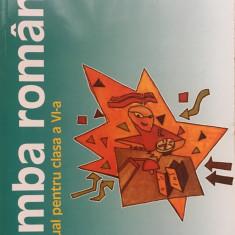 LIMBA ROMANA MANUAL PENTRU CLASA A VI-A - Alexandru Crisan,  Dobra, Sanmihaian
