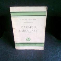 CARMEN SAECULARE - D. ANGHEL, ST.O. IOSIF