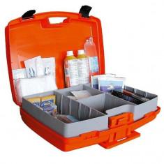Trusa medicala, fixa si mobila 148-2373 cu tensiometru inclus - Trusa auto prim ajutor