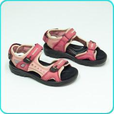 DE FIRMA → Sandale PIELE, comode, aerisite, usoare, calitate ECCO → fete | nr 31 - Sandale copii Ecco, Culoare: Din imagine, Piele naturala