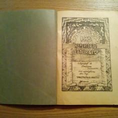 REPERTORIU LITURGIC - Constantin A. Ionescu - Seminarul Nifon Mitropolitul, 1945 - Carti de cult