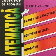 CULEGERE DE PROBLEME MATEMATICA CLASELE VII-VIII - Carbunaru