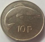 Moneda 10 Pence - IRLANDA, anul 1978 *cod 4901 xF