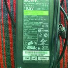 Incarcator/adaptor laptop SONY VAIO PCGA-AC19V7 original pin 19, 5V/6.15A/120W - Incarcator Laptop Sony, Incarcator standard