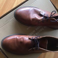Ghete desert / desert boots / chukka boots / pantofi - Pantofi barbat Zara, Marime: 40, Culoare: Maro