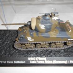 Macheta tanc M4A3 (76mm) - Germany - 1945 scara 1:72 - Macheta auto