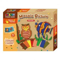 Joc creativ - Mozaic Animale - Bino - Jocuri arta si creatie