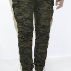 Pantaloni Army tip Zara Man - pantaloni barbati pantaloni camuflaj - cod 114
