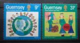 GUERNSEY 1985 – ZIUA COPILULUI, serie nestampilata, R29