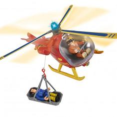 Elicopter cu figurina pompierul Sam, Simba