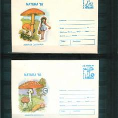 2 Intreguri Postale 1993 - CIUPERCI