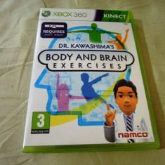 Dr. Kawashima's Body and Brain Exercises, xbox360, Kinect, alte sute de jocuri! - Jocuri Xbox 360, Simulatoare, 3+, Single player
