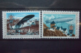 LIECHTENSTEIN 1979 –  AVIOANE SI DIRIJABILE EUROPA CEPT, serie MNH, R17