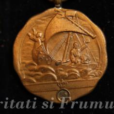 Medalia Virtutea Maritima Pentru Personal Navigant Clasa A III A - Ordin