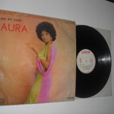AURA URZICEANU: Oh, My Love (1974)al 3-lea album de jazz al ei, stare VG-/VG- - Muzica Jazz electrecord, VINIL