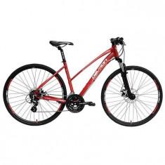 DEVRON Lady Urbio Cross LK2.8 - Bicicleta Trekking, 19 inch, Numar viteze: 8