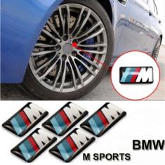 Sticker Bmw M Power pentru Jante Ceasuri Bord Volan - Embleme auto