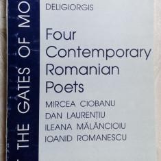 MIRCEA CIOBANU/DAN LAURENTIU/ILEANA MALANCIOIU/IOANID ROMANESCU:VERSURI LB. ENG. - Carte poezie