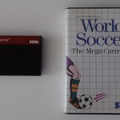 Caseta Joc World Soccer The Mega Cartridge Sega Master System Game original - Jocuri Sega, Sporturi, 3+, Multiplayer