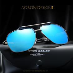 Ochelari Soare Aviator Style - AORON BRAND - Polarizati, UV400 - Model 3, Unisex