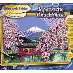 Pictura Pe Numere Japonia - Jocuri arta si creatie Ravensburger