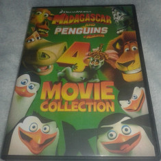Madagascar colectie 4 DVD  - Dublate in limba romana, dream works