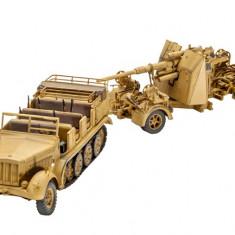 Macheta Revell Tun Anti-Aerian Sd.Kfz.7 + 8, 8 Cm Flak 37 - 03210 - Automodelism