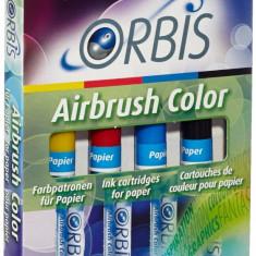 Orbis - Cartus de aerograf pentru copii set A