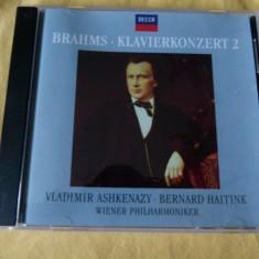 Brahms 2 Aschkenazy - Muzica Clasica decca classics, CD