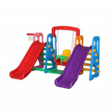 Centru de Joaca 4 in 1 Happy Slide Multicolor