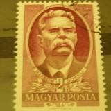 UNGARIA 1951 – SCRIITOR MAXIM GORKI, timbru stampilat UA120 - Timbre straine